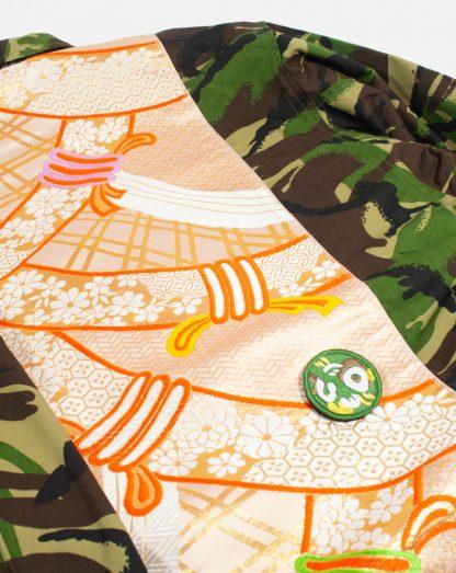 """Custom Army Jacket - """"Gold Katana"""""""