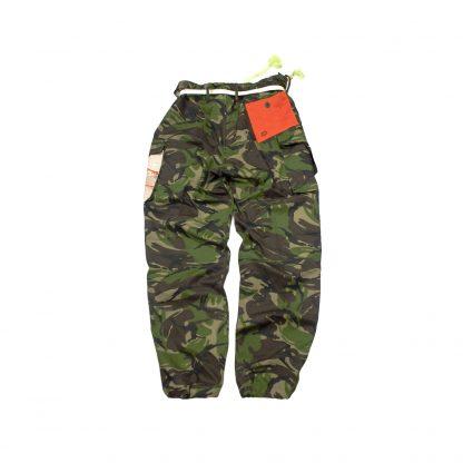 "Custom Army Trousers - ""Gold Katana"""