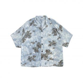 """Upcycled Aloha Shirt - """"Blue Dragons"""""""