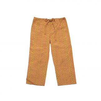 """Casual Drawstring Pants - """"Orange Burst"""""""