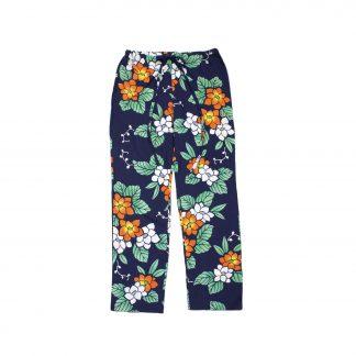 "Casual Cotton Drawstring Pants - ""Classy Navy"""
