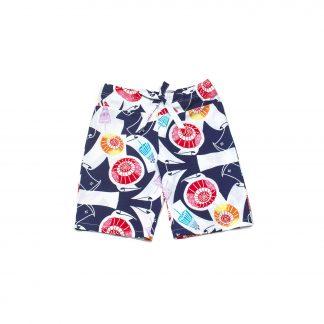 """Cotton Drawstring Short Pants - """"Midsummer Sprinkles"""""""