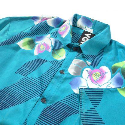 "Hawaiian Shirt - ""Aquamarine Dream"""
