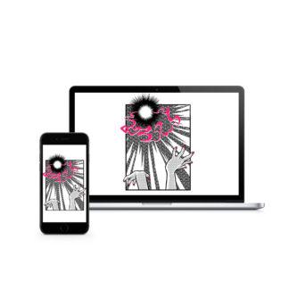 Genkidama (Spirit Bomb): Digital Wallpaper - thumbnail