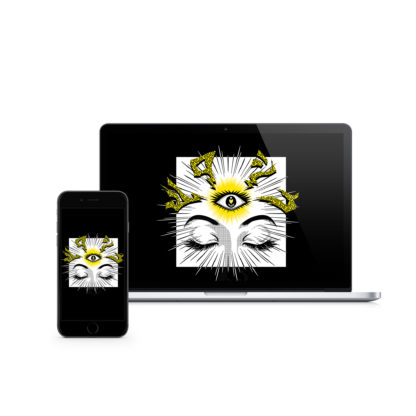 iii (Third Eye): Digital Wallpaper