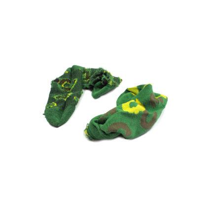 Green Camouflage Bamboo Socks #JungleCamo - inside