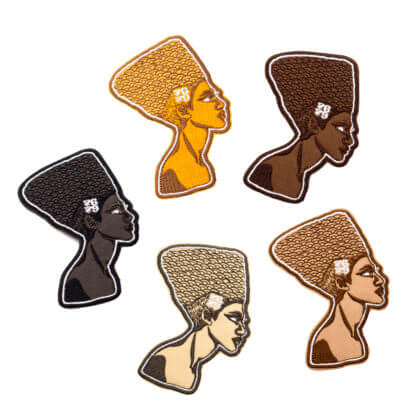 Cartoon Embroidery Patches: Queens - ALL