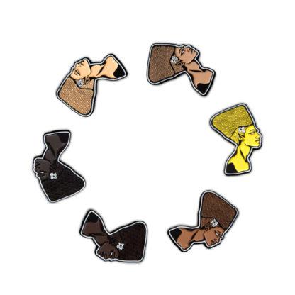 Cartoon Enamel Pins Set: Queens - ALL
