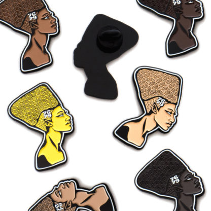 Queens: Cartoon Enamel Pins Set - all shades