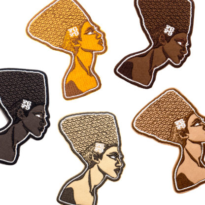 Cartoon Embroidery Patches: Queens - all shades