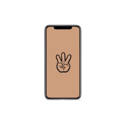 iii (Hand Sign): Hip Hop Digital Wallpapers - Phone 2