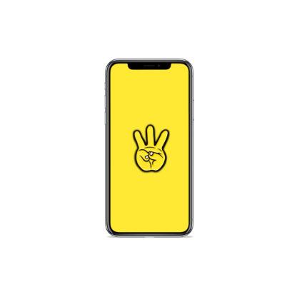 iii (Hand Sign): Hip Hop Digital Wallpapers - Phone 3