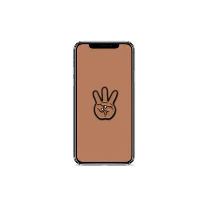 iii (Hand Sign): Hip Hop Digital Wallpapers - Phone 4