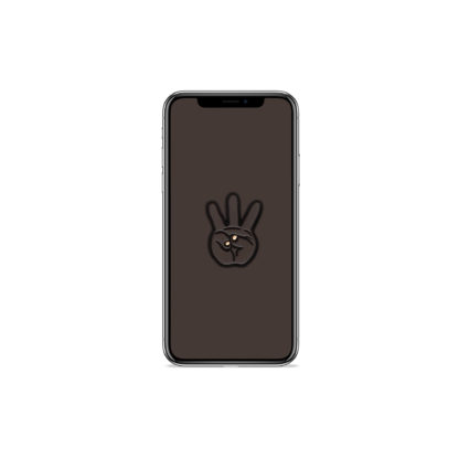 iii (Hand Sign): Hip Hop Digital Wallpapers - Phone 6