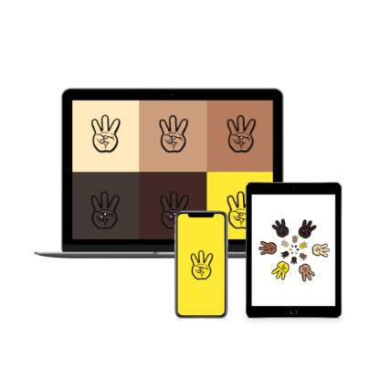 iii (Hand Sign): Hip Hop Digital Wallpapers