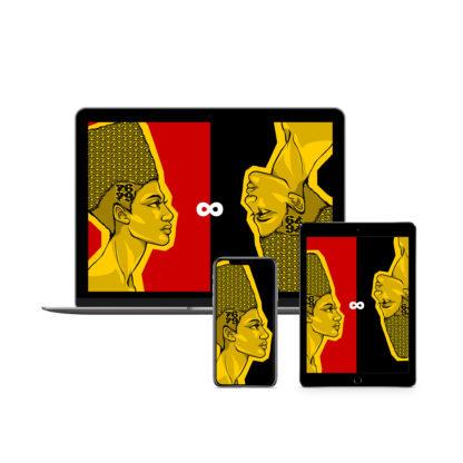 Egyptian Queens: Artwork Digital Wallpapers