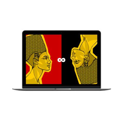 Egyptian Queens: Artwork Digital Wallpapers - Desktop