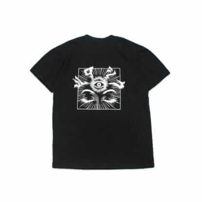 iii (Third Eye): Graphic Black Tee - back
