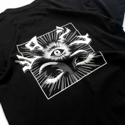 iii (Third Eye): Graphic Black Tee - backprint