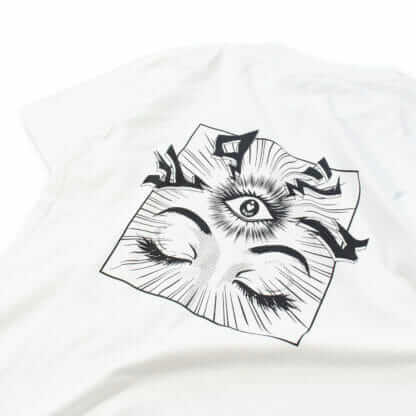 iii (Third Eye): Graphic White Tee - backprint