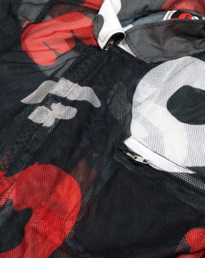 Camouflage Mesh Jumpsuit #PowerCamo - zip