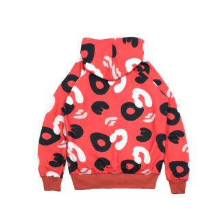 Red Camo Hoodie Sweatshirt #PowerCamo - back