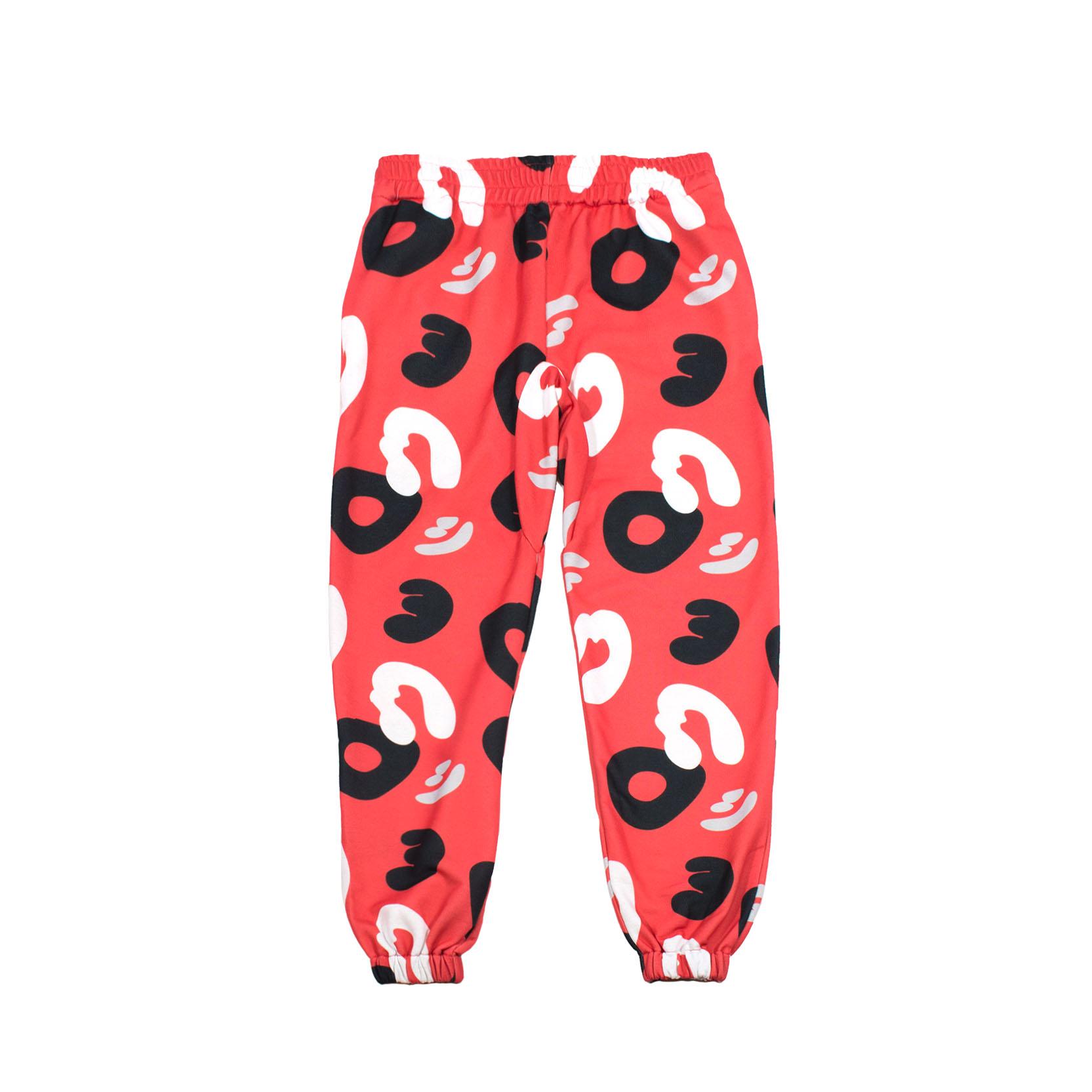 Red Camo Joggers Sweatpants #PowerCamo - front