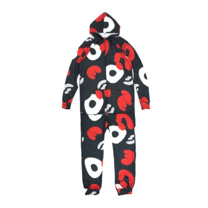Camouflage Hoodie Jumpsuit #PowerCamo - front
