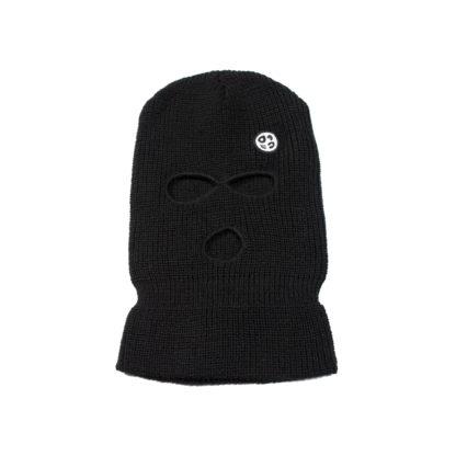 Balaclava Logo Beanie Hat (Black)