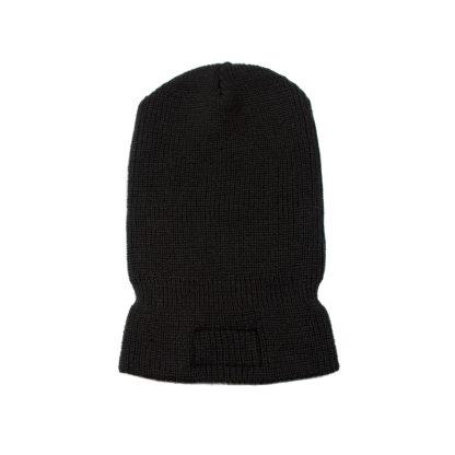 Balaclava Logo Beanie Hat (Black) - back
