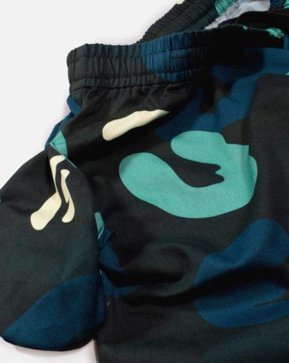 Blue Camo Joggers #DeepSeaCamo - details