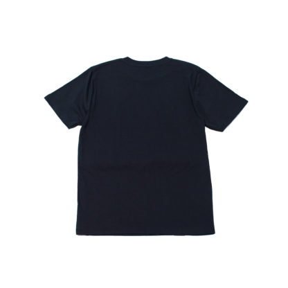 Mother Sea: Japanese Graphic Navy Tee - back