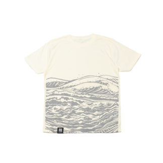 Mother Sea: Japanese Graphic Sand Tee - front