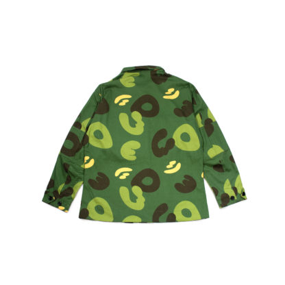 Green Camo Army Jacket #JungleCamo - back