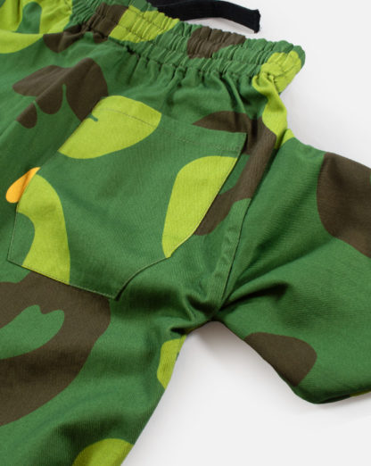 Green Camo Cotton Joggers #JungleCamo - pocket