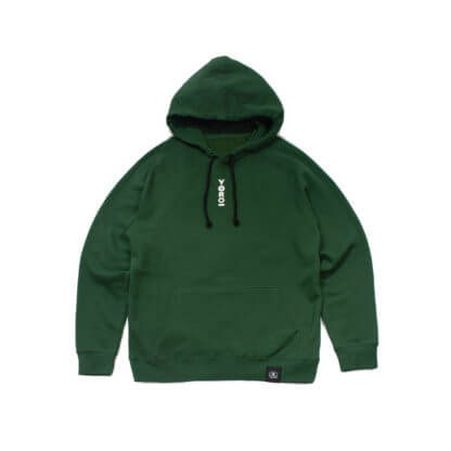 Green Pullover Hoodie #JunglePanda - front