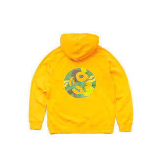 Pullover Hoodie (Yellow) #JunglePanda - backprint