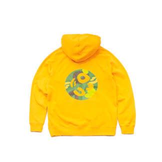 Pullover Hoodie (Yellow) #JunglePanda - backprint