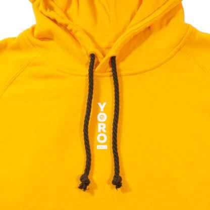 Pullover Hoodie (Yellow) #JunglePanda - string