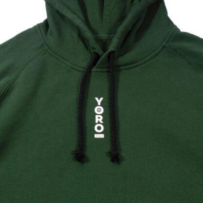 Green Pullover Hoodie #JunglePanda - string