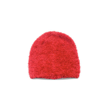 Fuzzy Jazz Hat (Red) - back