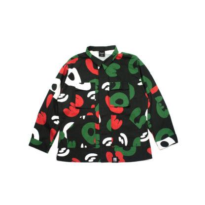 Black Camo Army Jacket #TribeCamo - front