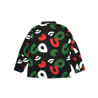 Black Camo Army Jacket #TribeCamo - back