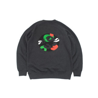 Charcoal Sweatshirt Jumper #TribeCamo - back