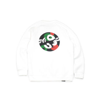 White Sweatshirt Jumper #TribeCamo - back