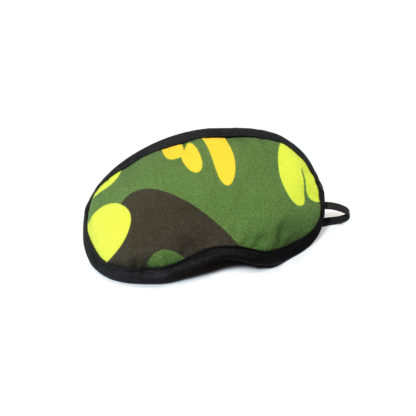 Camouflage Eye Mask - green side