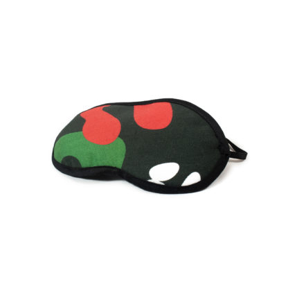 Camouflage Eye Mask - black side