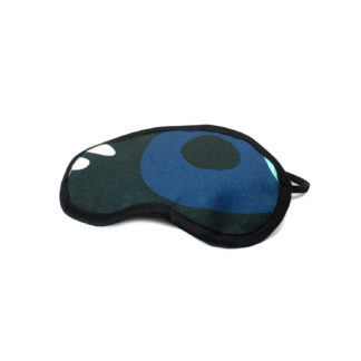Camouflage Eye Mask - blue side
