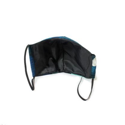 Camouflage Face Mask - blue back