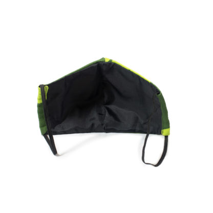 Camouflage Face Mask - green back